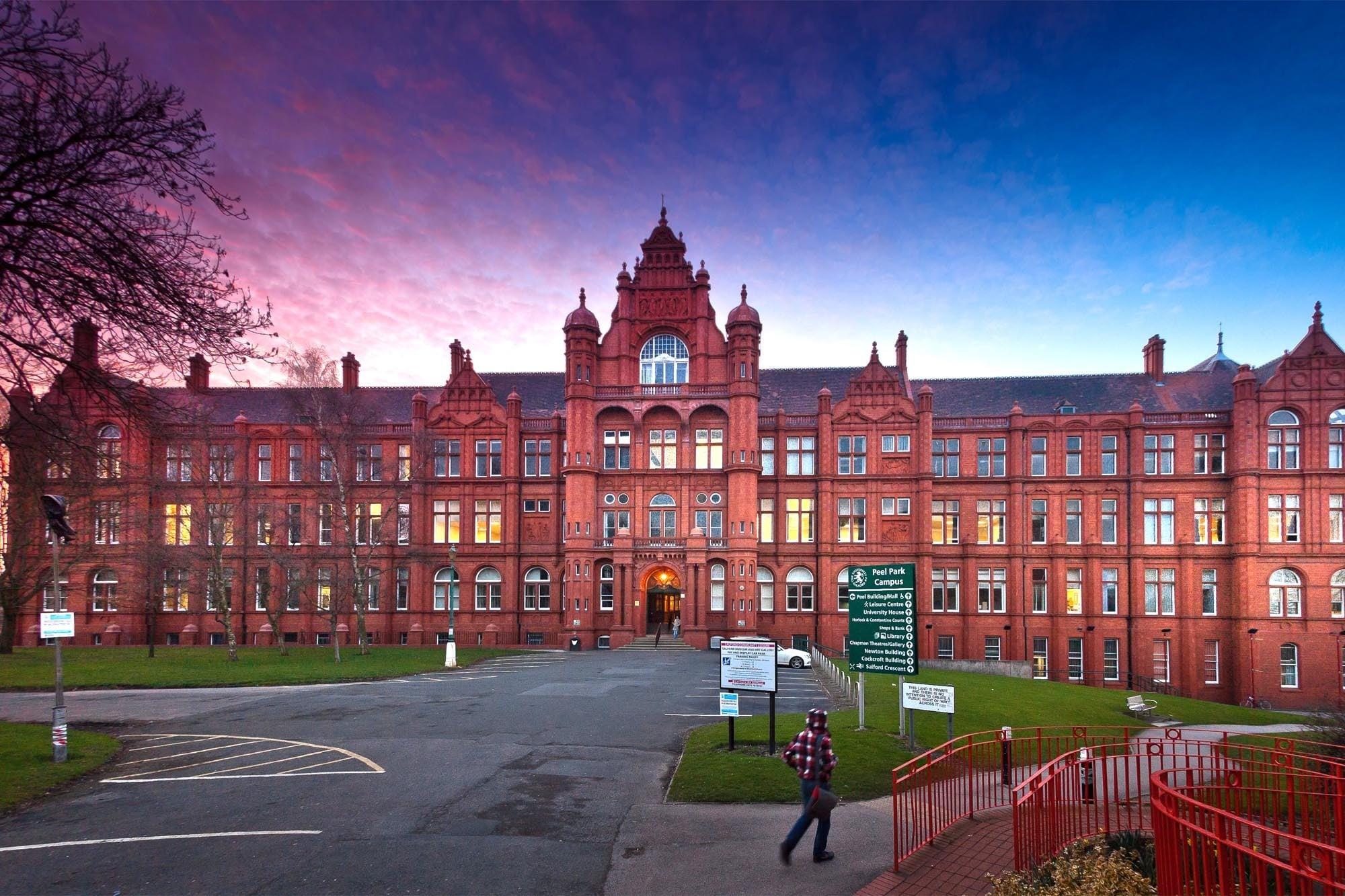 Salford University International Scholarships Award