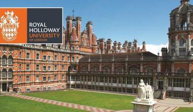 Royal Holloway Principal's Masters Scholarship