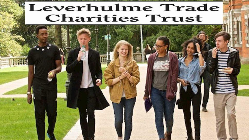 The Leverhulme Trade Charities Trust Postgraduate Bursaries in UK