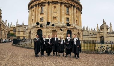 Two 3.5-Years D.Phil. Studentships at University of Oxford in UK