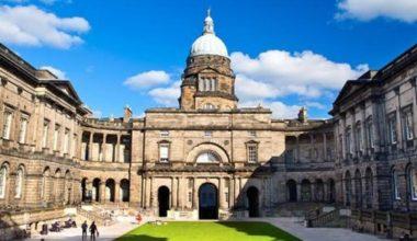 Ailie Donald Scholarship at University of Edinburgh