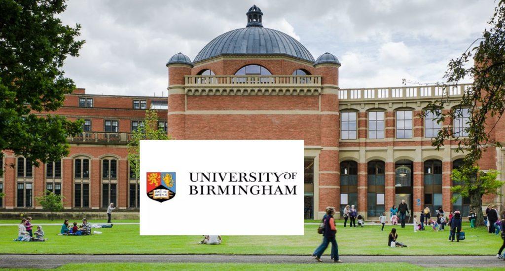 Fulbright University of Birmingham Award at University of Birmingham, UK