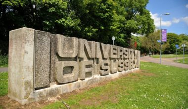 Sussex Excellence Scholarship in UK
