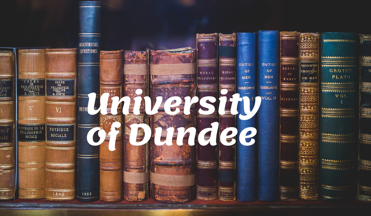 Discover Dundee Scholarship at University of Dundee, UK