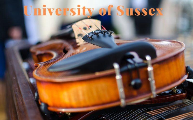 Dr John Birch Music Scholarship at University of Sussex