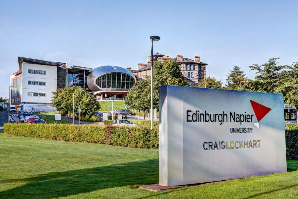 Edinburgh Napier University Partial Scholarships