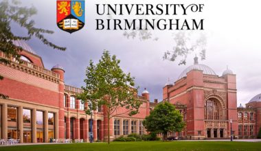 Poynting Excellence Scholarship at University of Birmingham