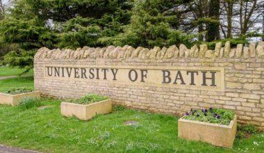 Gold Scholarship at University of Bath