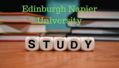 South Asia Scholarship at Edinburgh Napier University, UK
