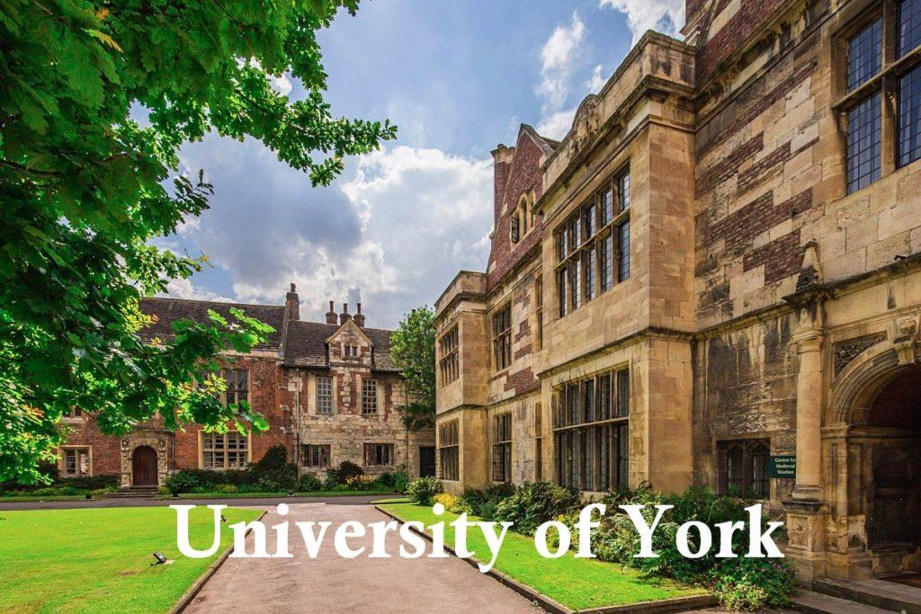 York Bursary in UK, 2019/20
