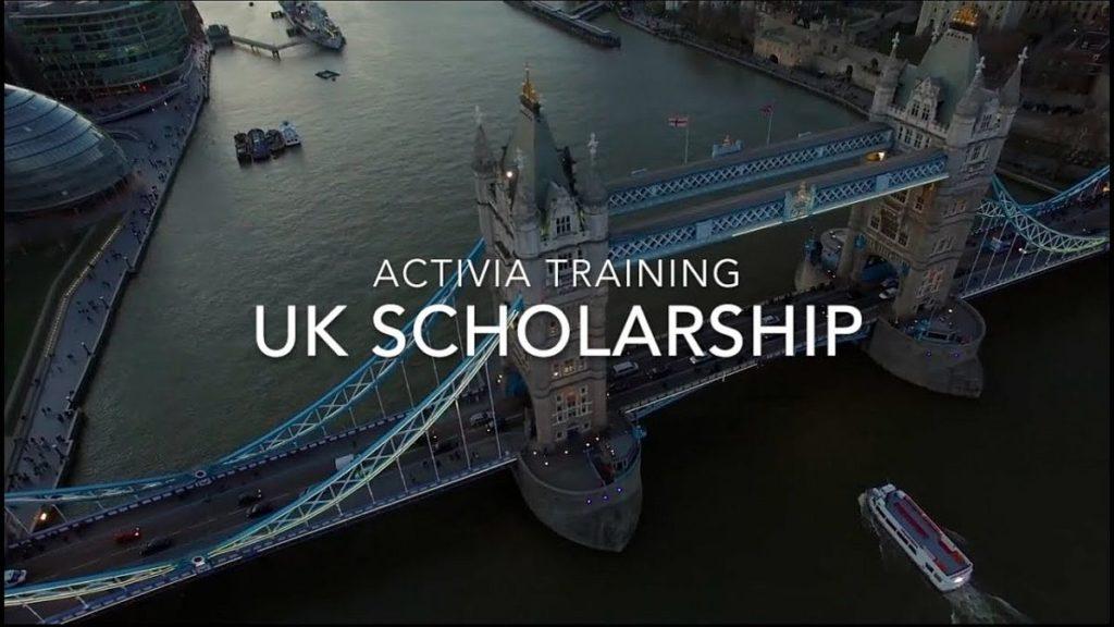 Activia Training UK Scholarship