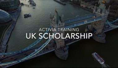 Activia Training UK Scholarship