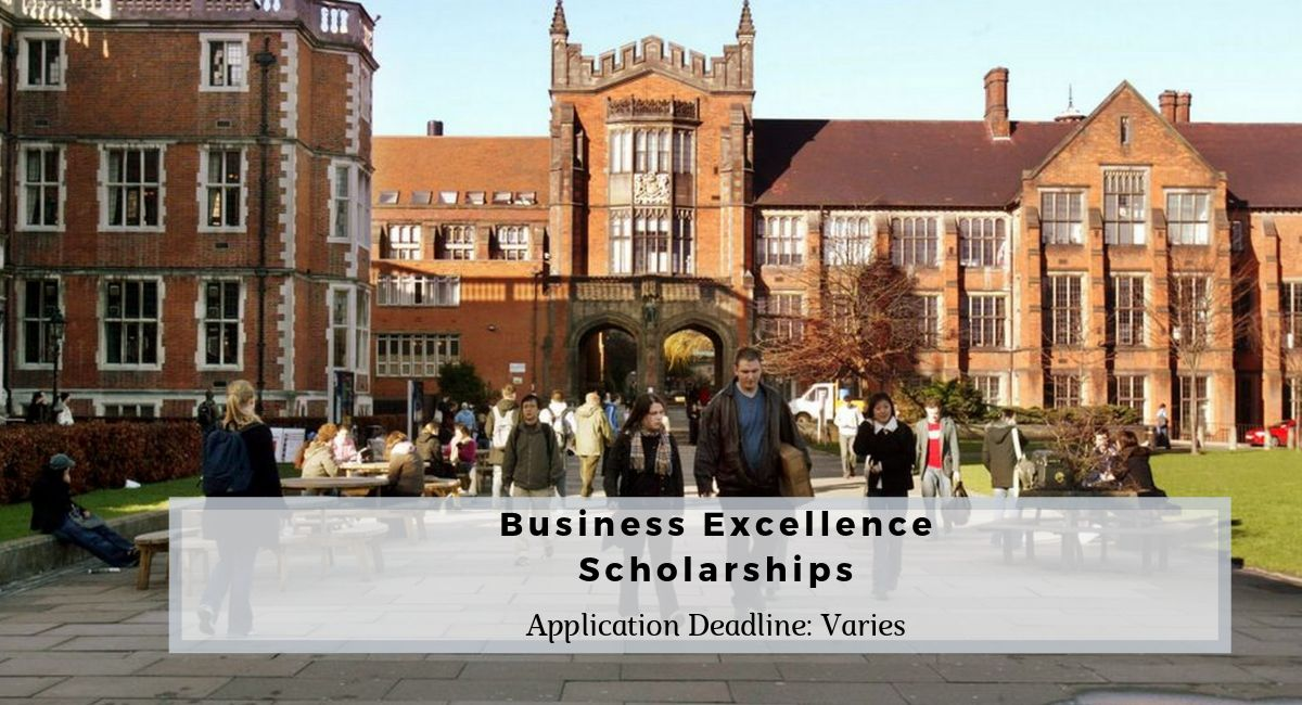 Business Excellence Scholarships at Newcastle University