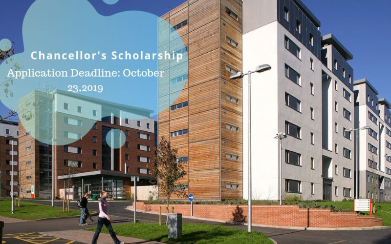 Chancellor's Scholarship in the UK