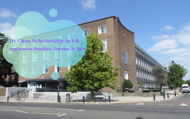 Dr Chan Scholarship in UK