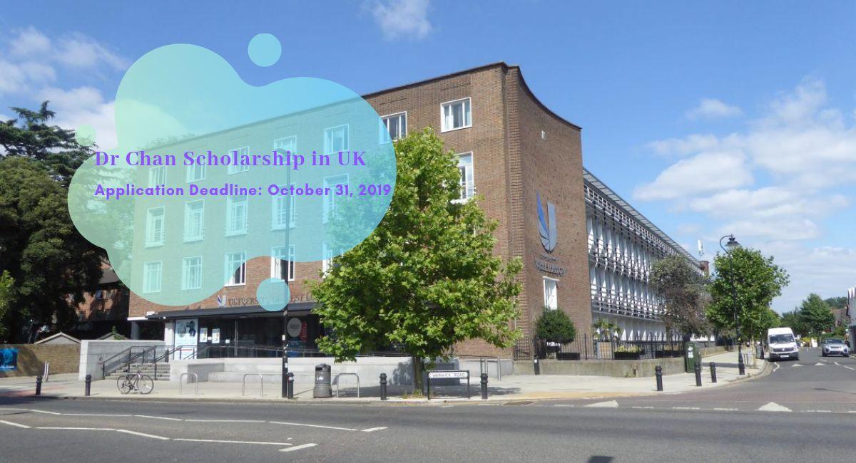Dr Chan Scholarship in UK