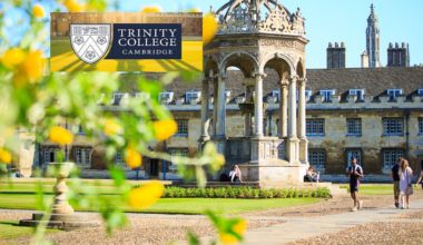 Dunlevie King's Hall Studentships at Trinity College Cambridge