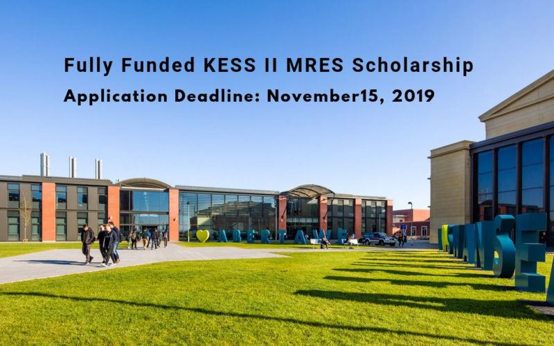 Fully Funded KESS II MRES Scholarship: Multi-Trophic Aquaponics in Urban Developments