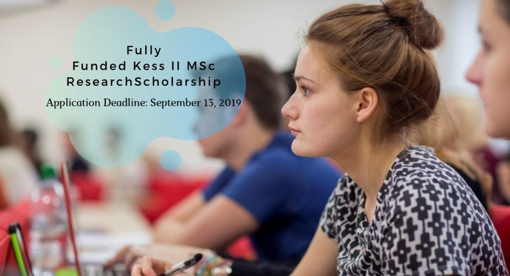 Fully Funded Kess II MSc by Research Scholarship: Sports and Exercise Science
