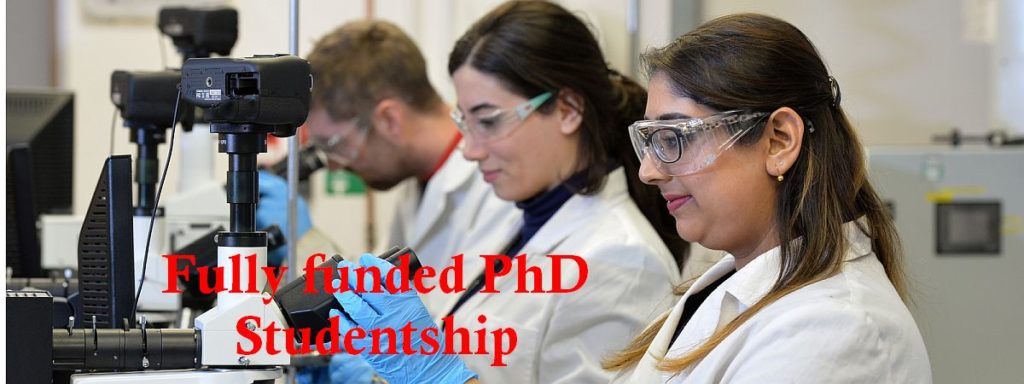 Fully funded PhD Studentship at University of Strathclyde