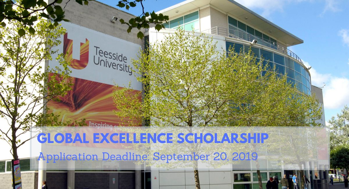 Global Excellence Scholarship at Teesside University