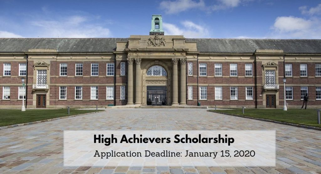 High Achievers Scholarship at Edge Hill University