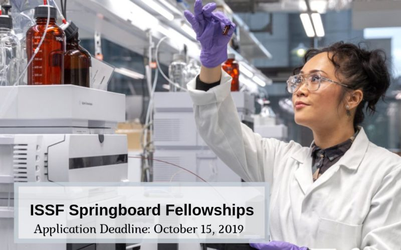 ISSF Springboard Fellowships