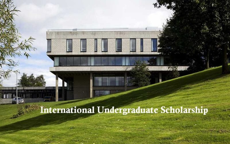 International Undergraduate Scholarship at University of Stirling in UK