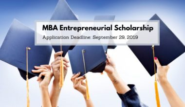 MBA Entrepreneurial Scholarship in UK