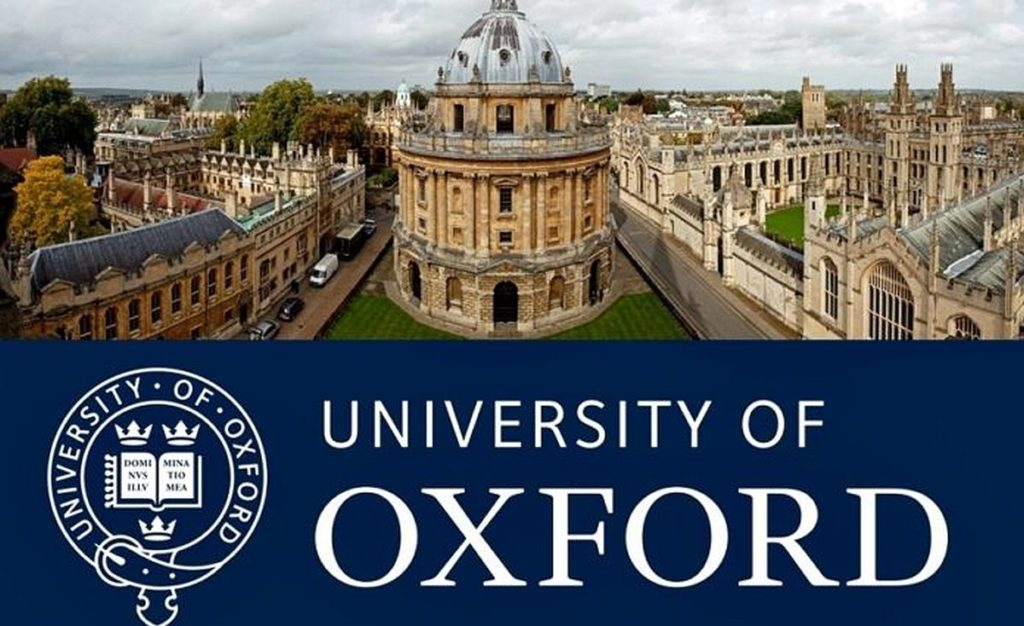 Palgrave Brown Scholarship at University of Oxford in UK