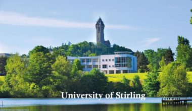 Postgraduate Merit Scholarship at University of Stirling, UK