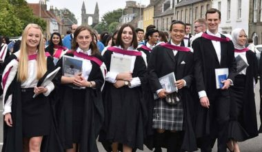 St Andrews Sanctuary Scholarship in UK