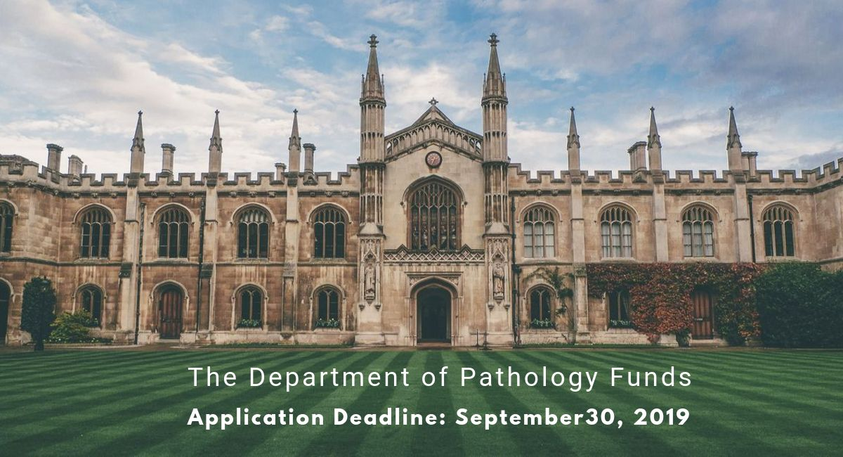 The Department of Pathology Funds at University of Cambridge