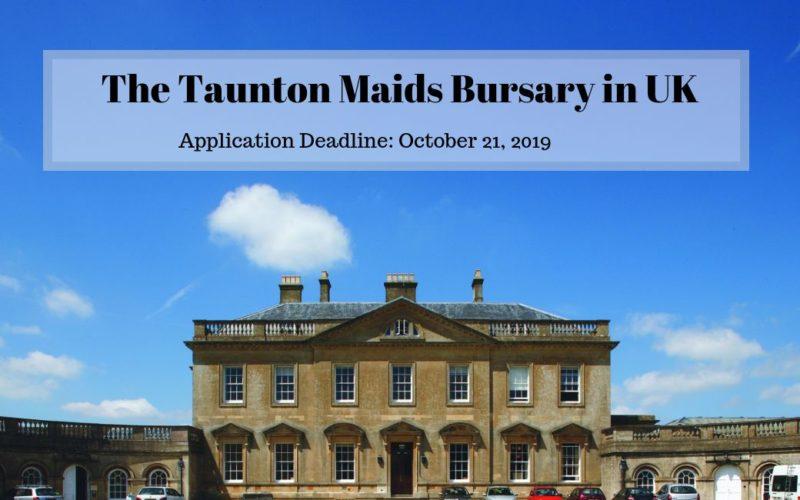 The Taunton Maids Bursary