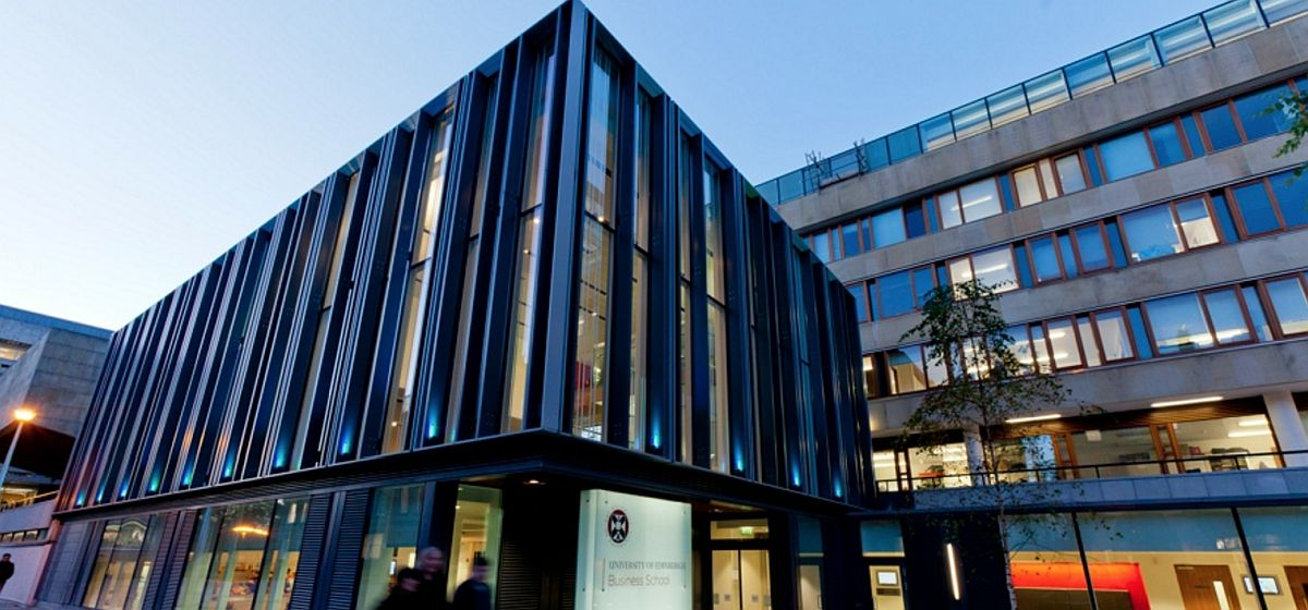 PhD Scholarship in Financial Technology at University of Edinburgh Business School, 2020